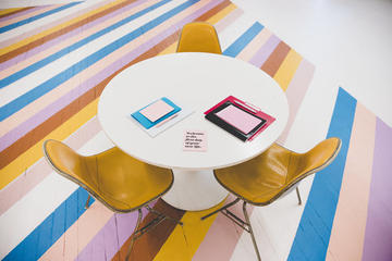 Creative Clubhouse table