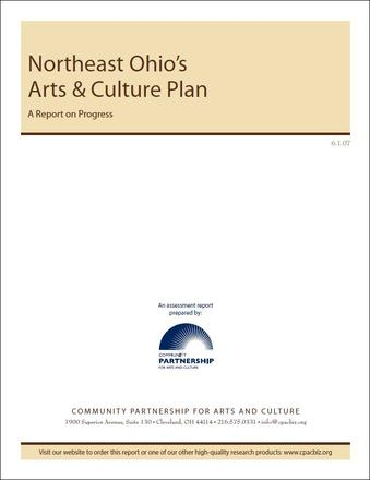 Northeast Ohio's Arts & Culture Plan Assessment