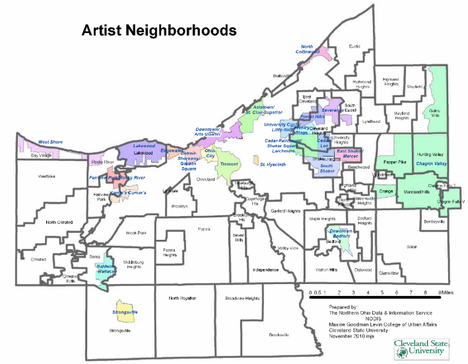 Putting Artists on the Map - Artists Locations